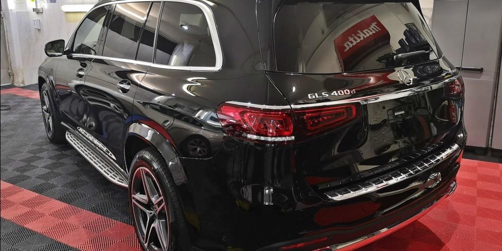 Mercedes GLS - Protectie masina noua