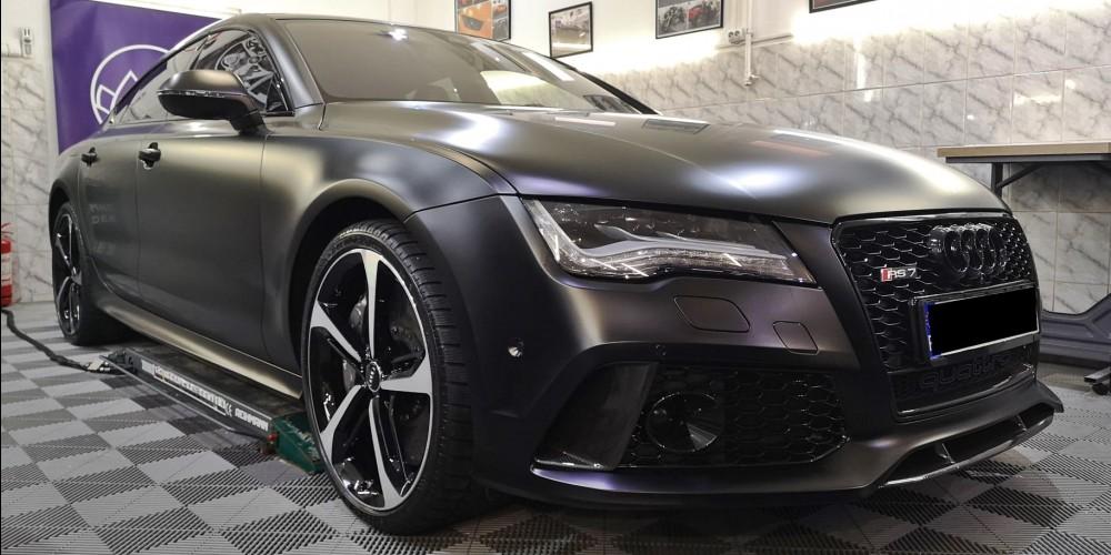 Audi RS7 - Detailing & satin PPF