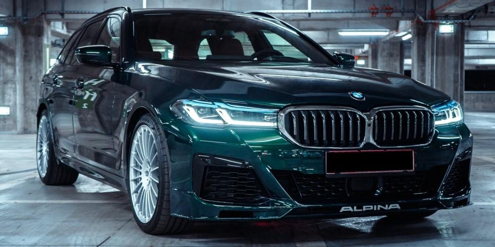 BMW Alpina B5 - Full PPF