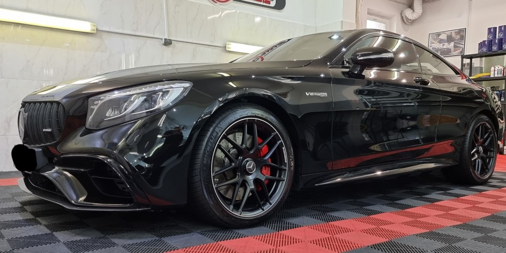 Mercedes S63 AMG - Detailing & protectie ceramica