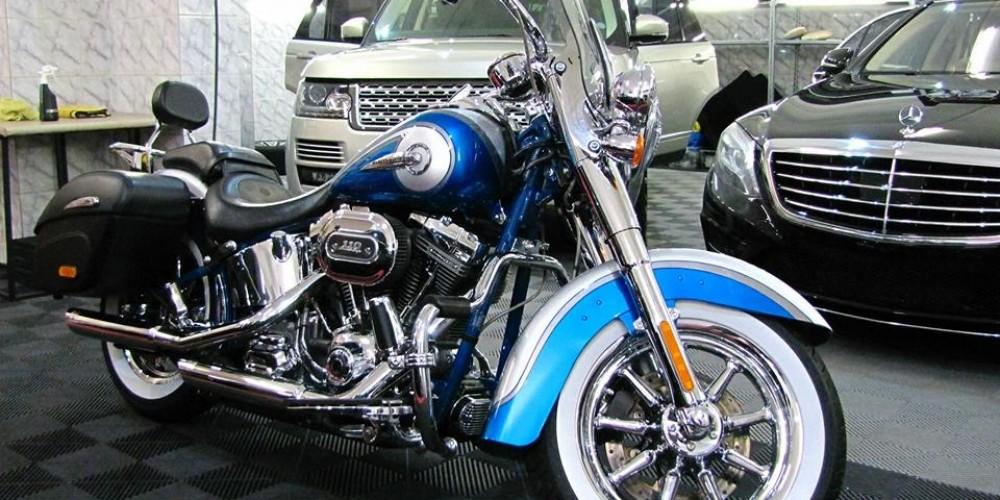 "Harley Davidson Softail ""Custom Vehicle Operations"""
